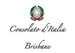Consolato D'Italia Brisbane logo - Mackay Italian Street Party