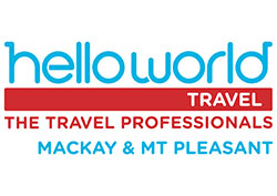 Corporate Sponsor - Helloworld Travel - Mackay Italian Street Party